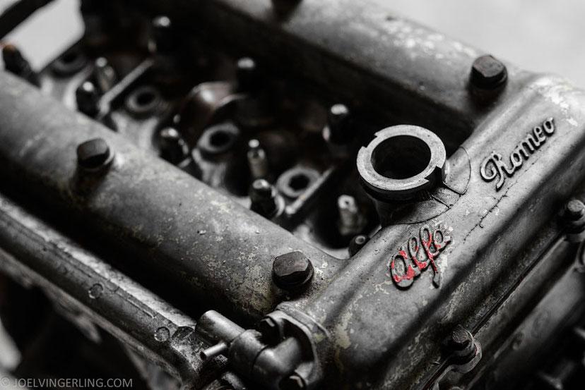 vintage, car, engine, alfa, art, photography