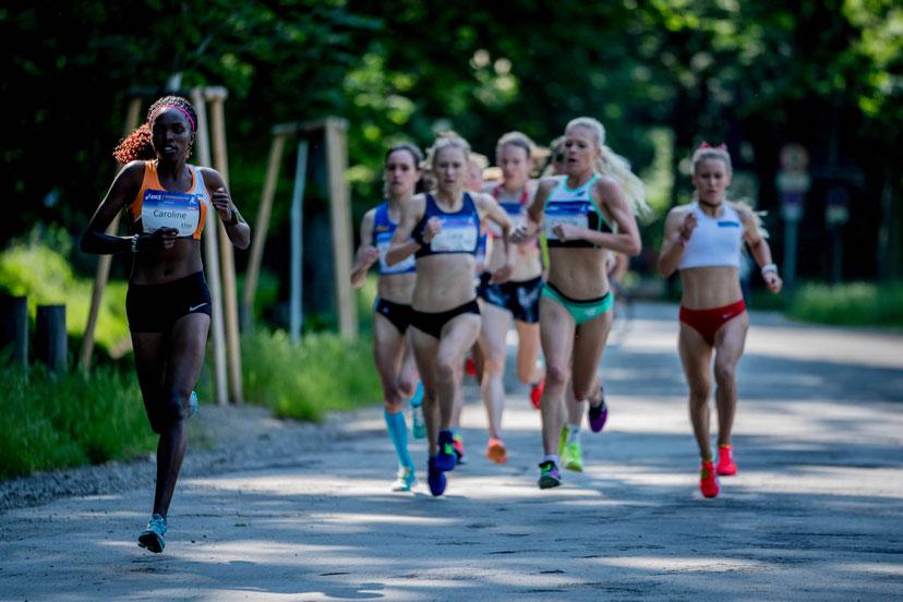 Frauenlauf Wien 2019 Caroline Makandi Gitonga (KEN) Camille Buscomb (NZL) Tara Palm (AUS) Julia Mayer DSG Wien Beste Österreicherin Schnabl Dippmann Pauer Nada Weltmeisterin