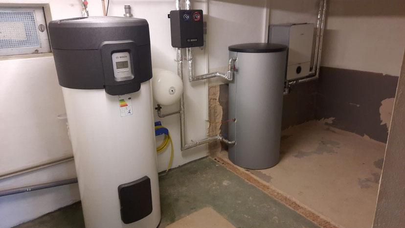 Ein Beispiel für Ölheizung raus und Wärmepumpe rein © iKratos