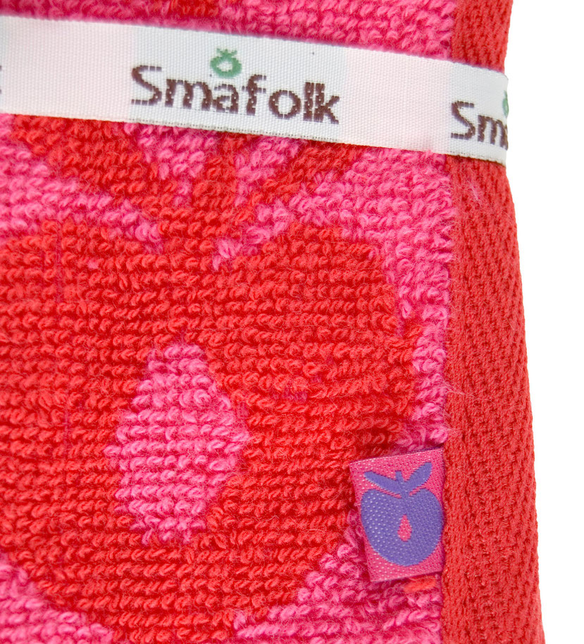 Smafolk Handtuch Äpfel Rosarot Medium
