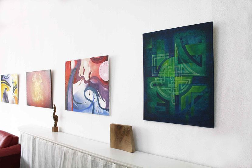 Beispiel für Kunstwerke zur Einrichtung für Unternehmen, Büros und Hotels.