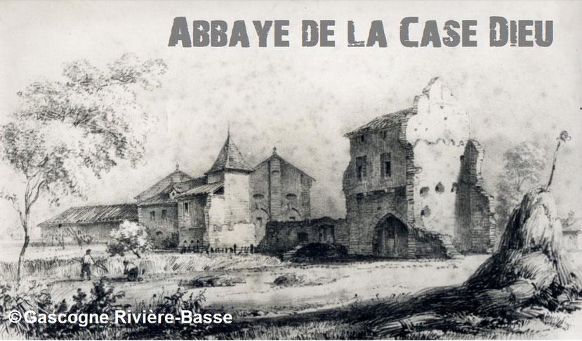 Monastère abbaye de la Case Dieu Beaumarchès 1135 1840