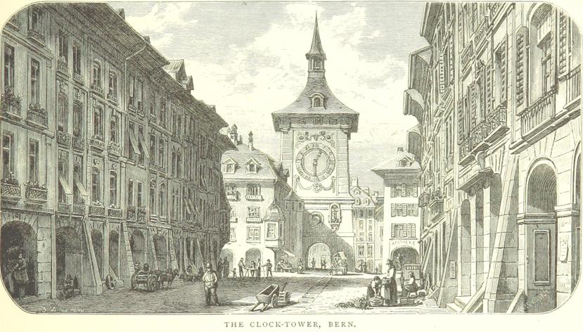 Symbolbild aus der Schweiz Bern