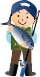 魚を持ち込む