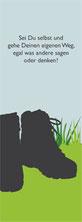 Valerie Forster, Bonusmaterial, Lesezeichen, Verirrt - Erzählung über ein Leben mit Hochsensibilität