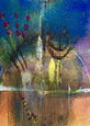 The memory dissolved, 2018, tecnica mista, 10 x 13 cm