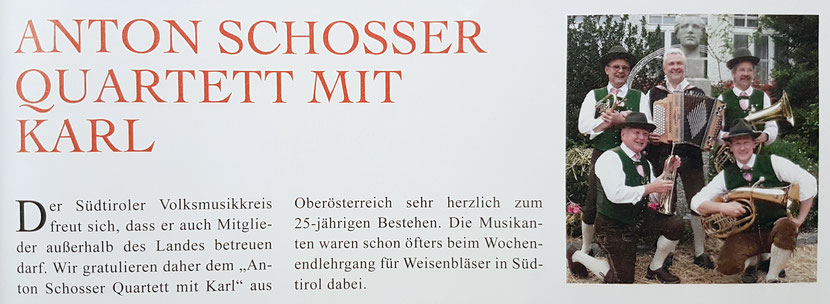 G´sungen & G´spielt Heft 4 / Dezember 2016 (Tiroler Volksmusikverein TVM)