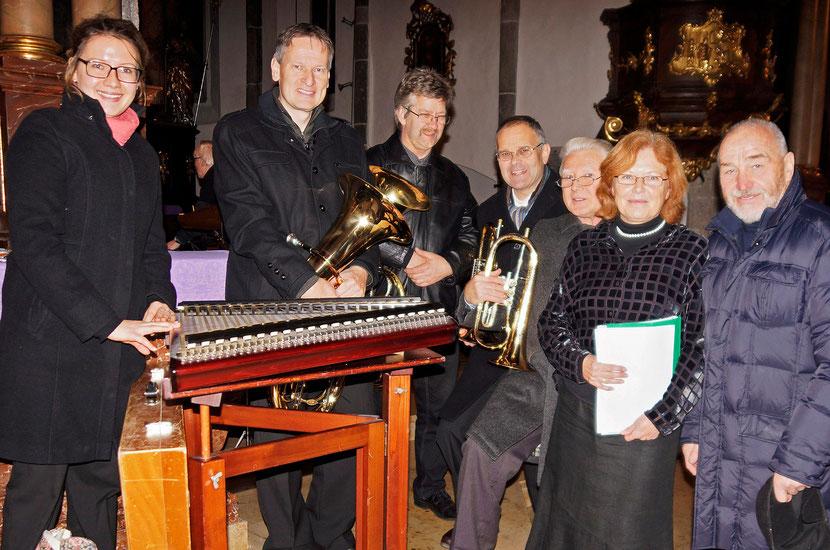 Sandra mit ASQ und den Organisatoren Maria & Hans Drenowatz