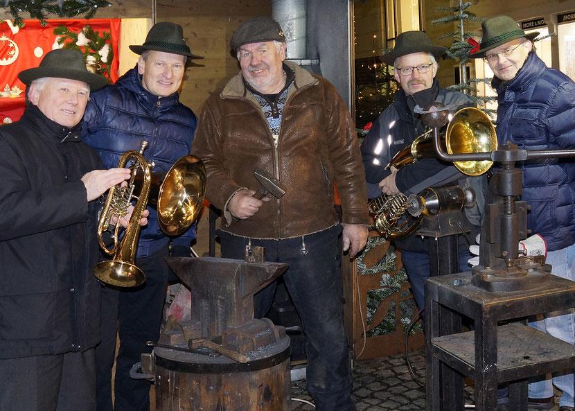 ASQ mit Schmied Walter Gugglberger aus Losenstein