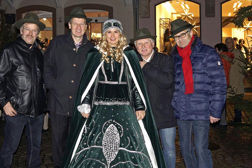 """ASQ mit dem """"Steyrer Christkindl"""" am 18.12.2015"""