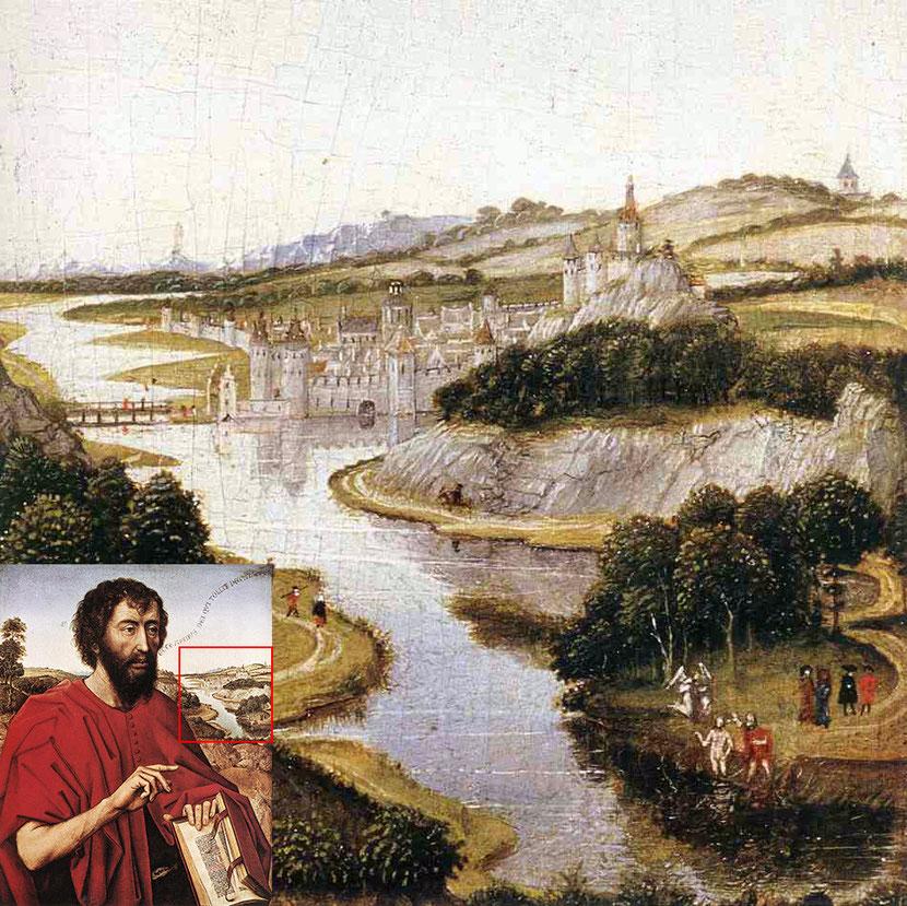 Рогир ван дер Вейден. Фрагмент левой створки алтаря семьи Брак. Около 1450 г.