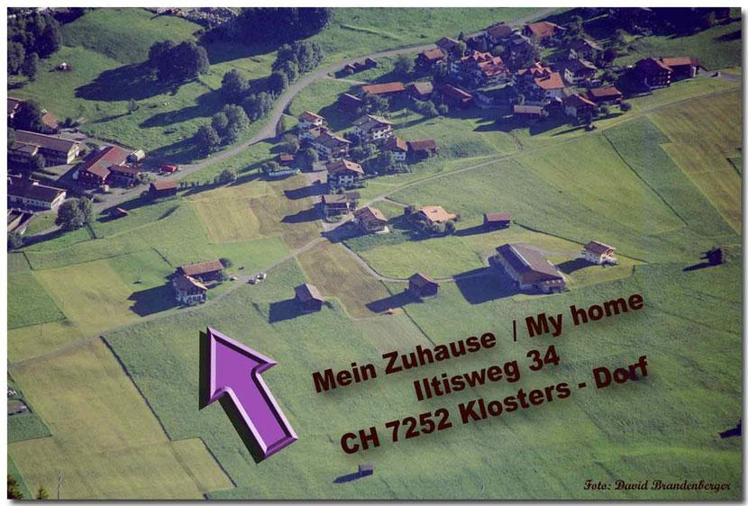 Bild:Luftaufnahme,Klosters Dorf,David Brandenberger,d-t-b.ch,d-t-b,Zuhause,
