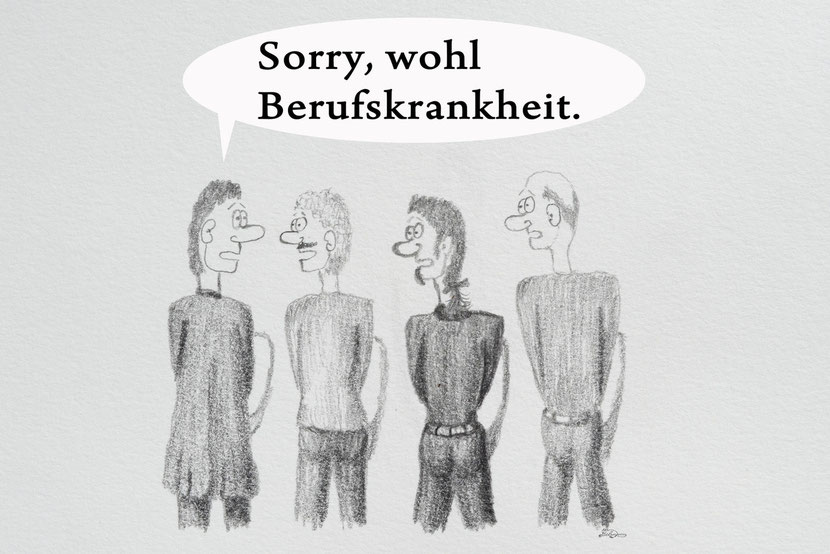 Bild:lustig,Spass,fun,Pissoir,Toilette,Berufskrankheit3,Cartoon,David Brandenberger,d-t-b.ch,d-t-b,