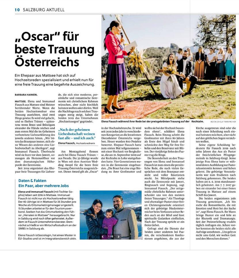 Salzburger Nachrichten 31.01.2019