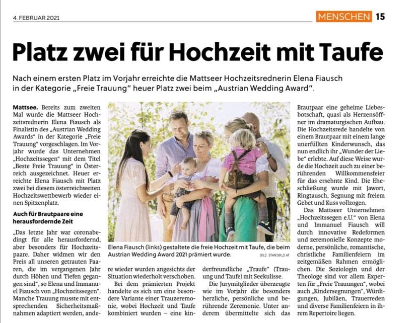Flachgauer Nachrichten 2021-02-04