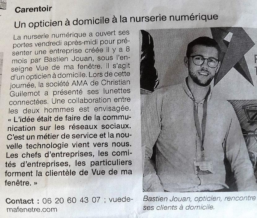 Article Ouest-France juin 2018