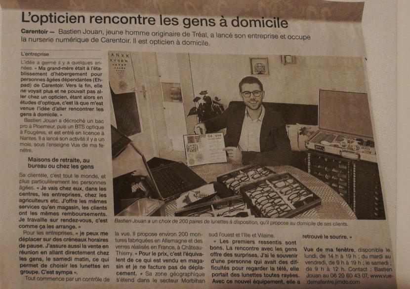 Article Les Infos décembre 2017