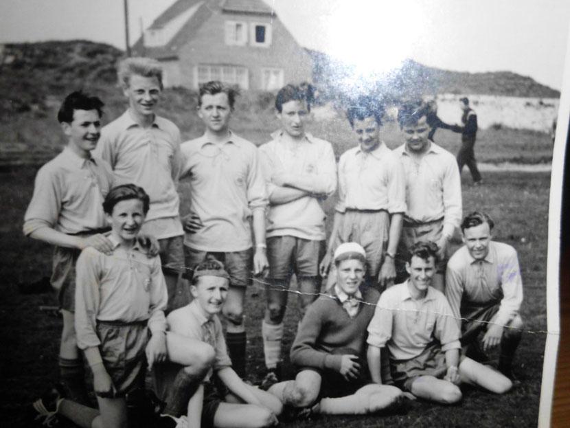 Günter Janssen,Alfred de Vries,Gerd Wäcken,Gerd Klooster,Peter Eilers,Uwe Schulz,unten-Bernd Bauer,Ronald Hofmann,Gerd Rinderhagen,Theo Endelmann und Hein Broer.