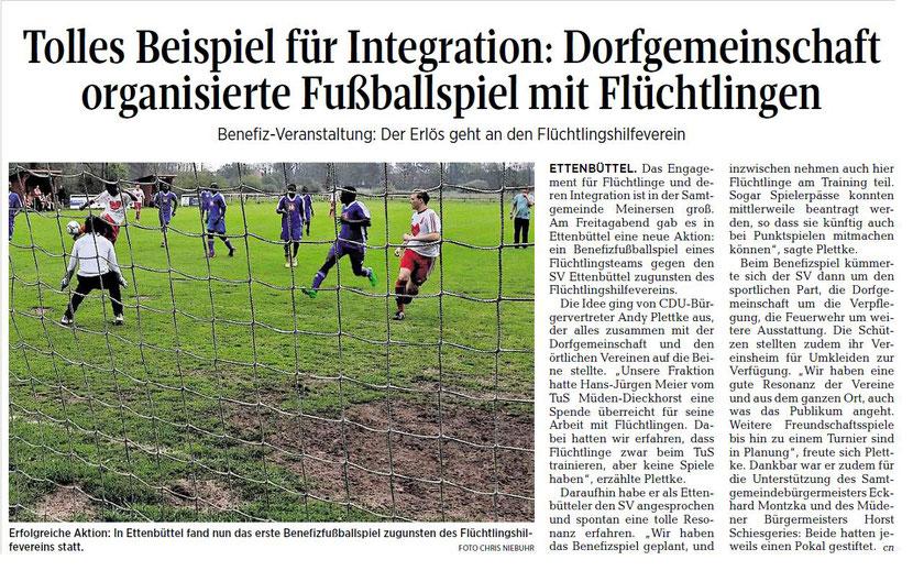 Aller-Zeitung vom 15.5.2017
