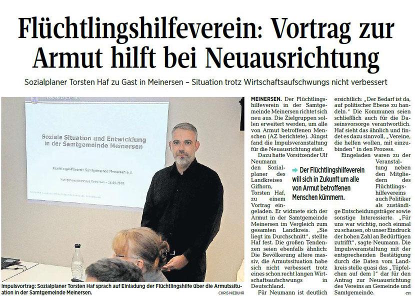 Aller-Zeitung vom 2.10.2018