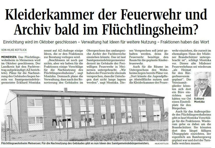 Aller-Zeitung vom 13.2.2018