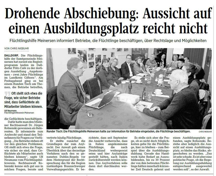 Aller-Zeitung vom 26.2.2018