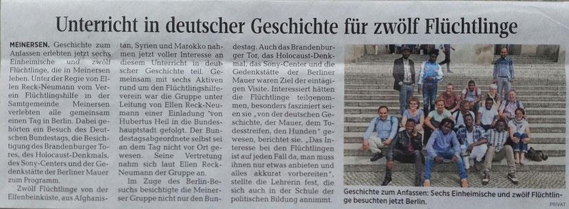 Aller-Zeitung vom 6.7.2017
