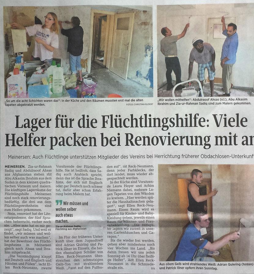 Aller-Zeitung vom 13.7.2016