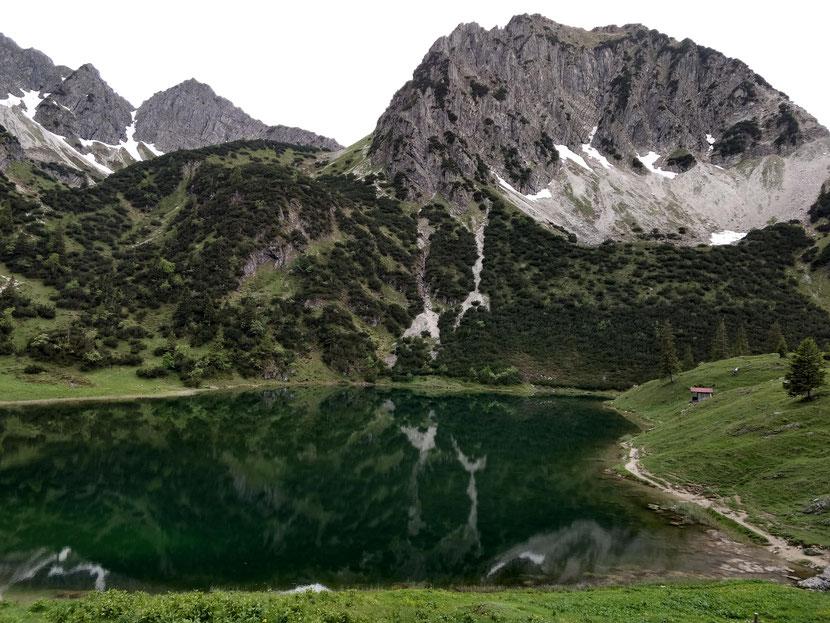 Gaisalpsee und Rubihorn Nordwand