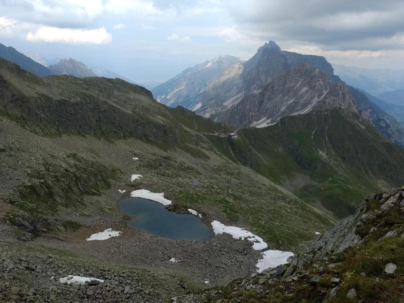 Unser Tagesziel die Innsbrucker Hütte
