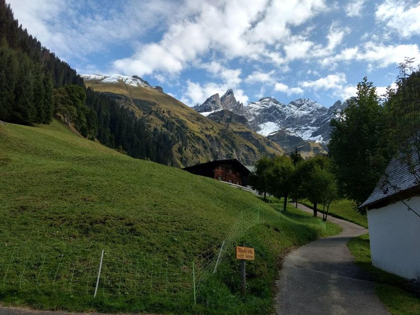 Start an der Fellhornbahn Talstation