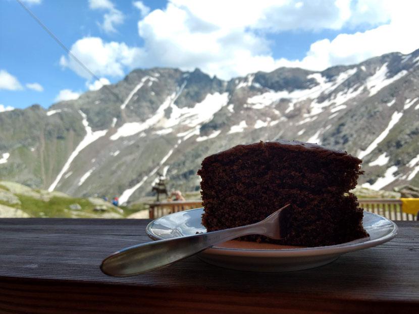 Kuchen mit Aussicht