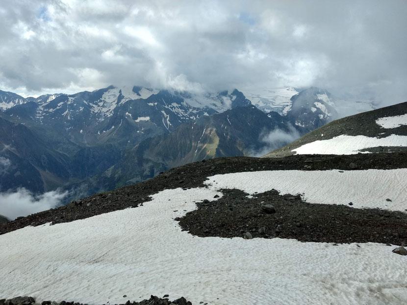 Inmitten der Stubaier Gletscherwelt