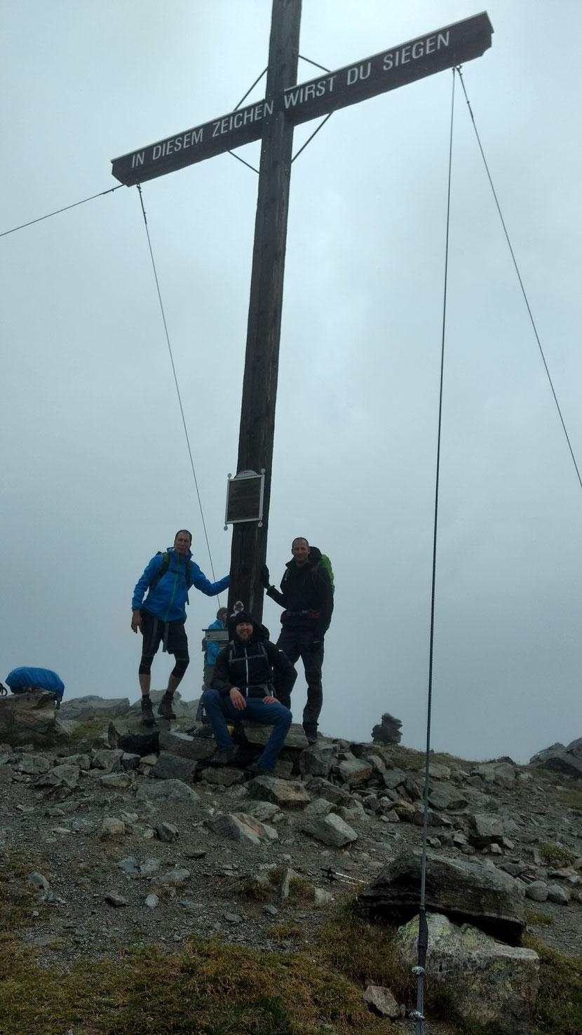 Am Gipfel des Wannejöchel