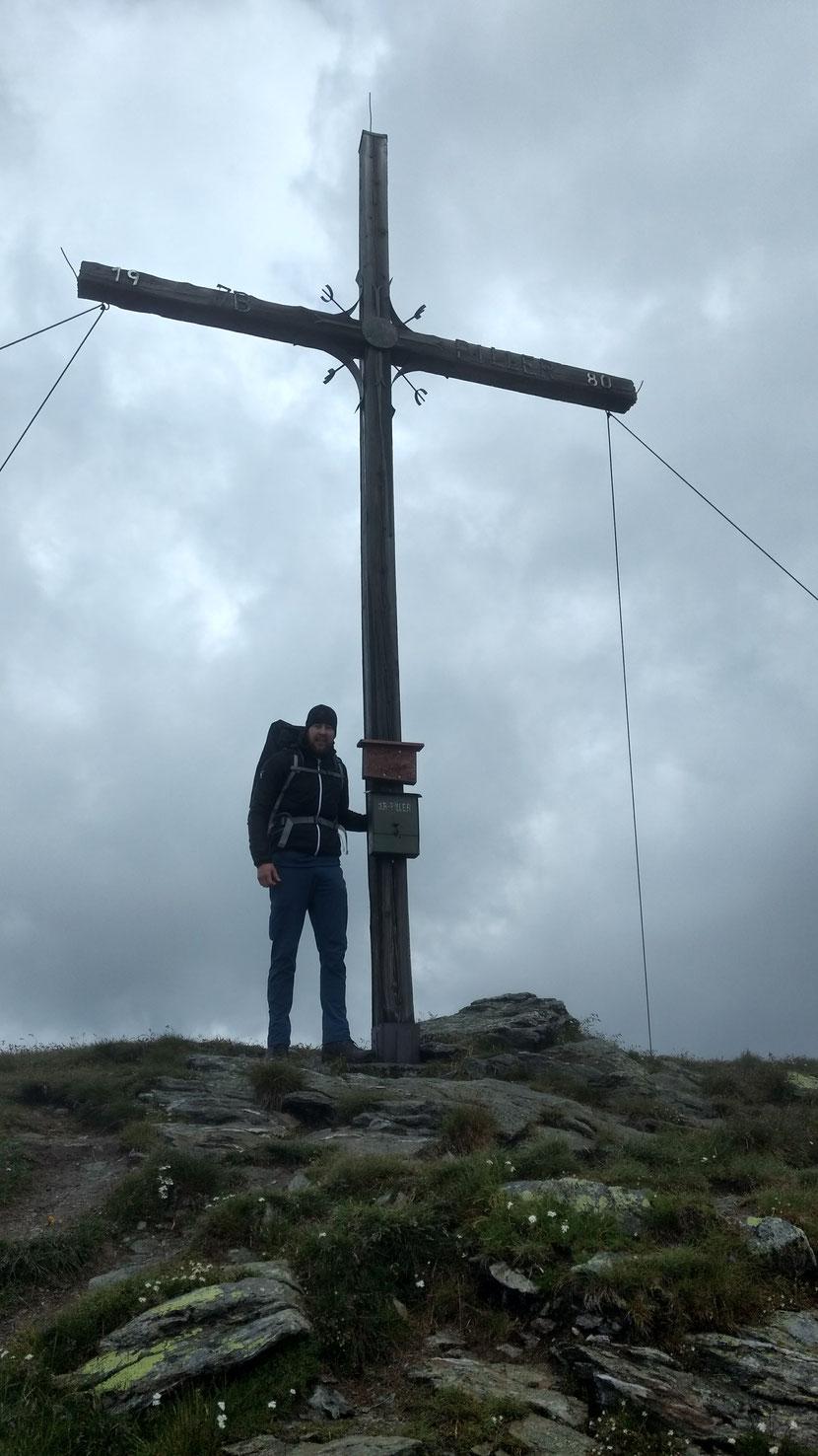 Und wenig später auf der Glanderspitze