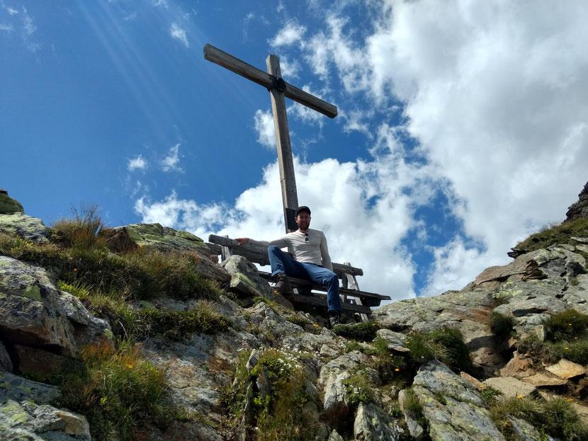 Am Gipfel des Niederl (2.627m)