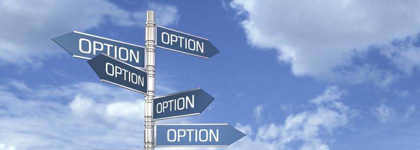 Selbstbestimmte Optionen zum Kulturwandel von innen heraus finden und auswählen