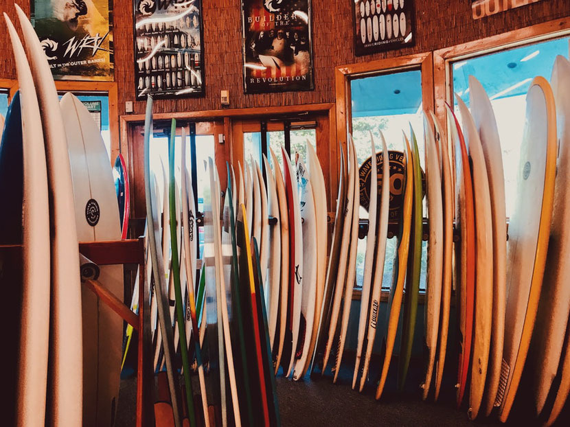 Surf Shop in Nags Head, North Carolina