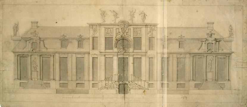 Villa Kamecke, Entwurf Andreas Schlüter