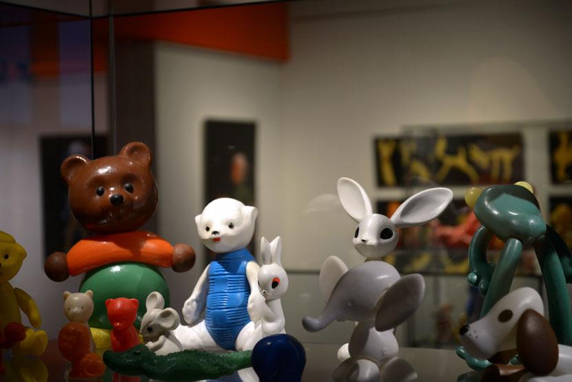 """Blick in die Ausstellung """"Zoo Mockba"""" in Wismar © Sebastian Köpcke/Volker Weinhold"""