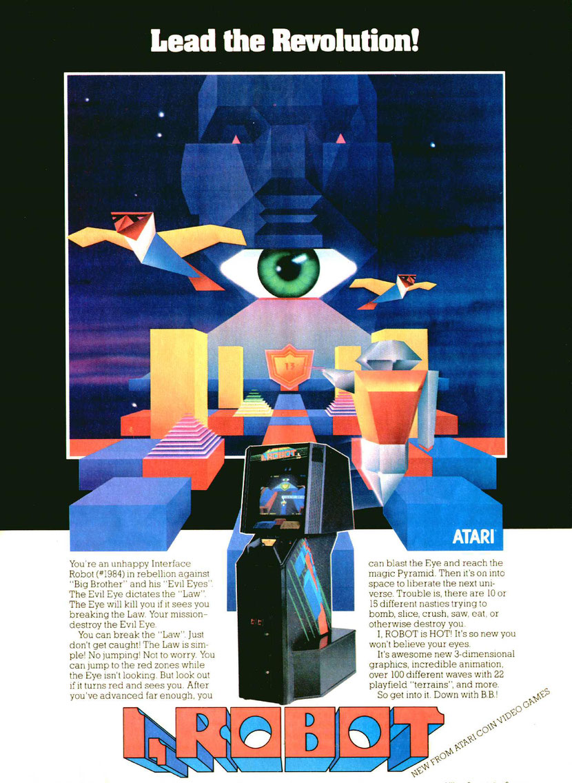 I, Robot (arcade)