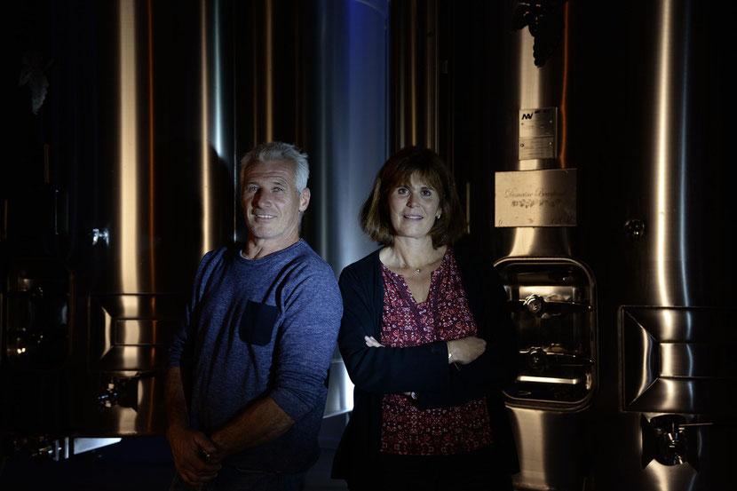 Bernard et Valérie Beaufumé - Domaine Beaufumé vins de Chablis