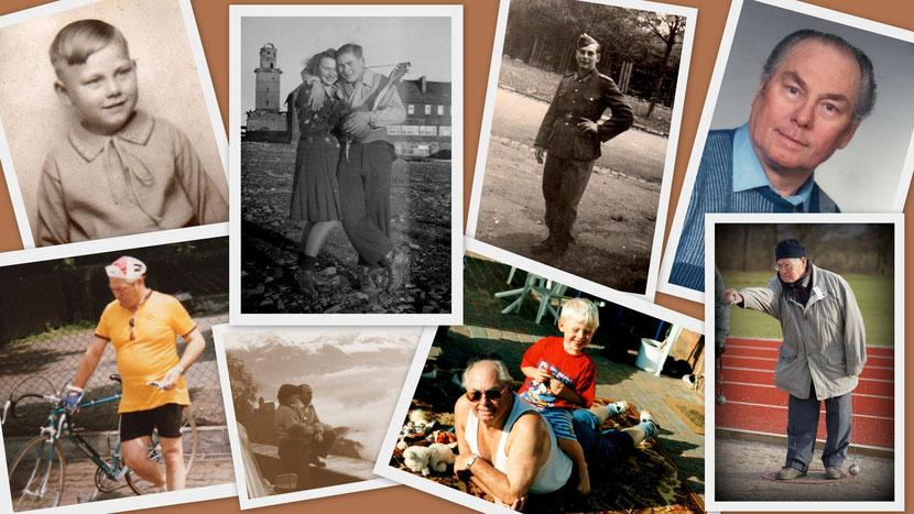 Mein Papa ... 90 Jahre und kein bisschen leise! :)