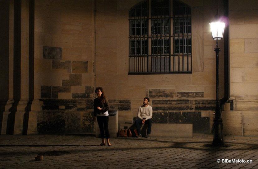 Zum Abschied ... Danke diesem jungen Paar ... Time to say Goodbye Dresden! :)