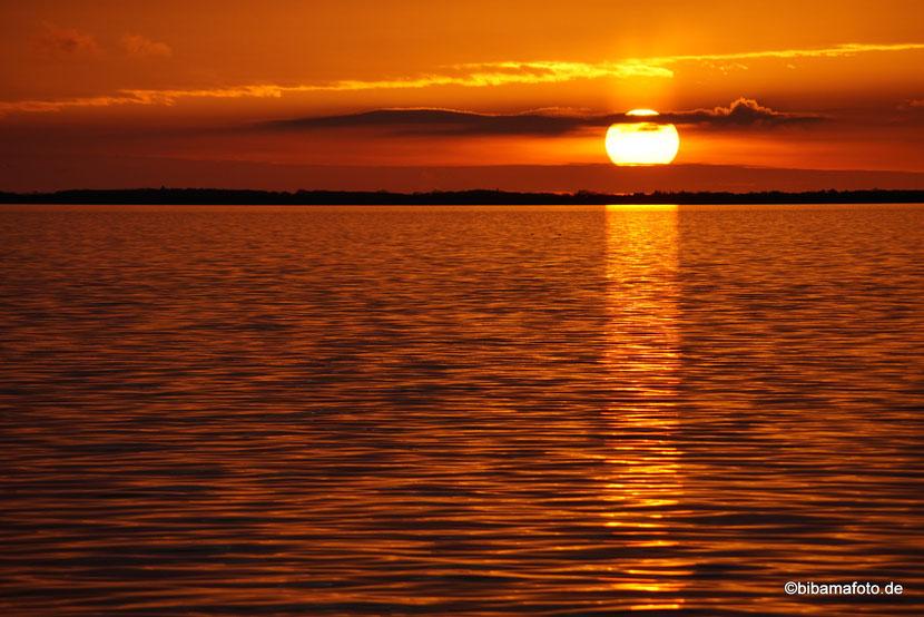 Endlich wieder Fotosafari ... Sonnenuntergang in Dagebüll :)