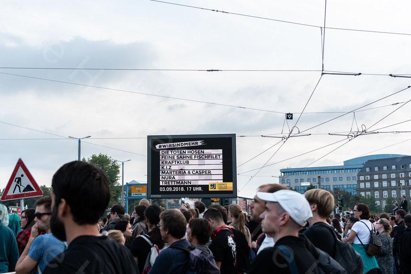 """Konzert """"Wir sind mehr"""", 3. September 2018, Chemnitz © De Havilland; CC BY-NC 2.0"""