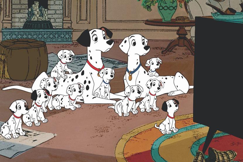 animaux disney dalmatiens chien