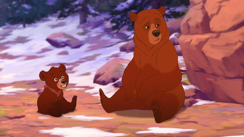 animaux disney frere des ours