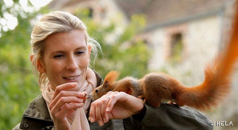 interview helene gateau helene et les animaux