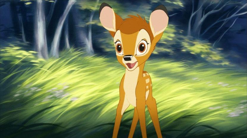 animaux disney bambi cerf de virginie